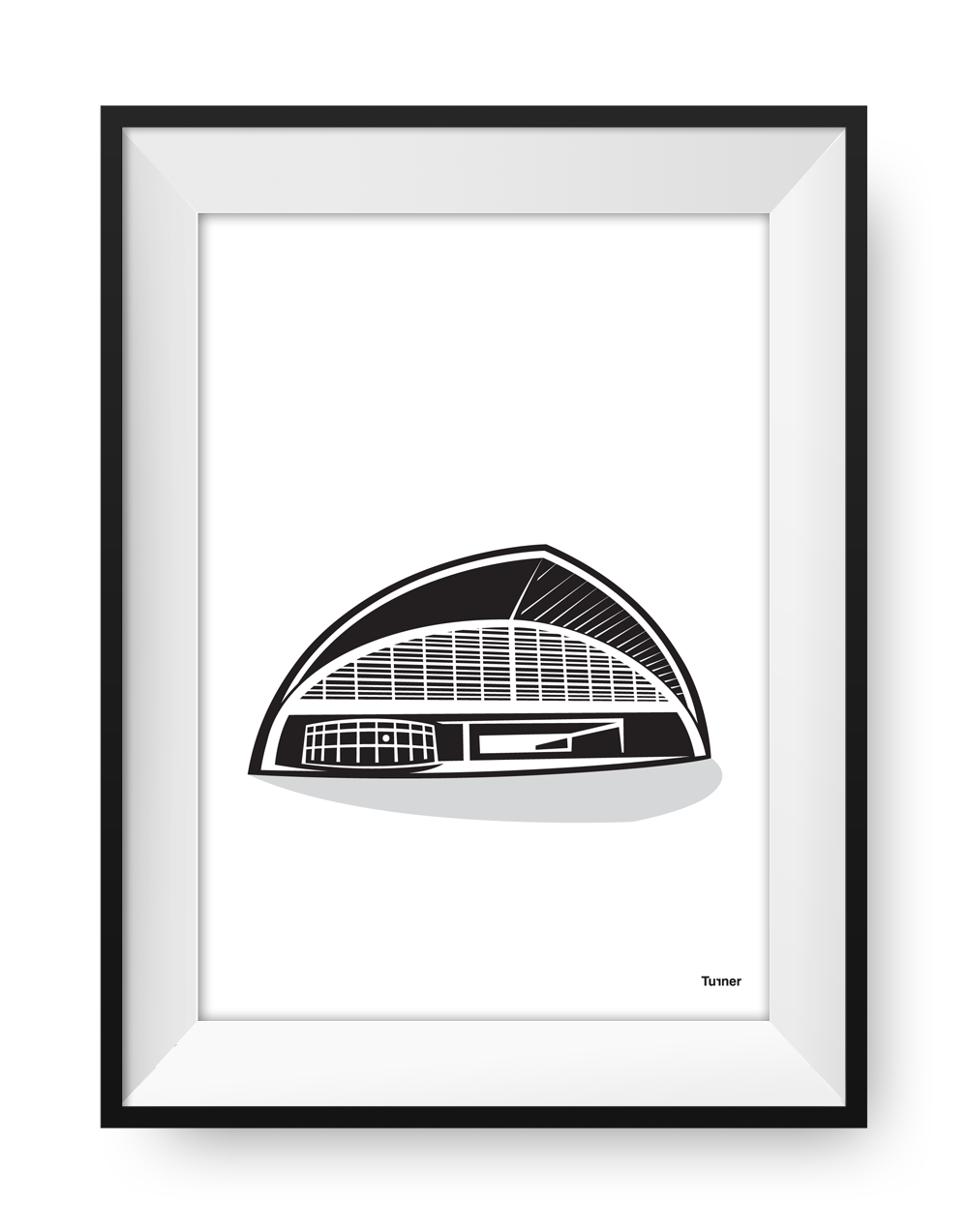 Illustration of Oxford Road Station Manchester