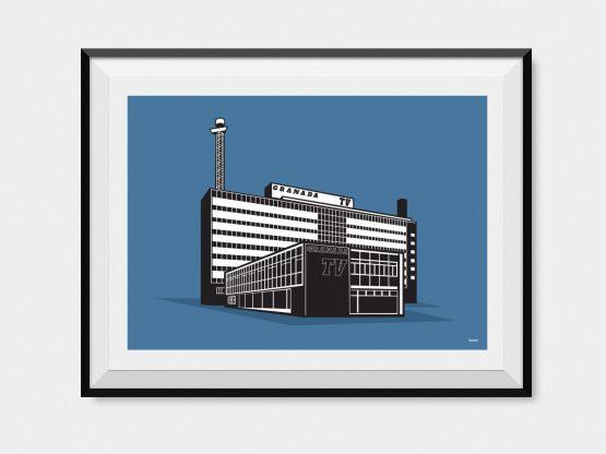 Manchester's first TV studio