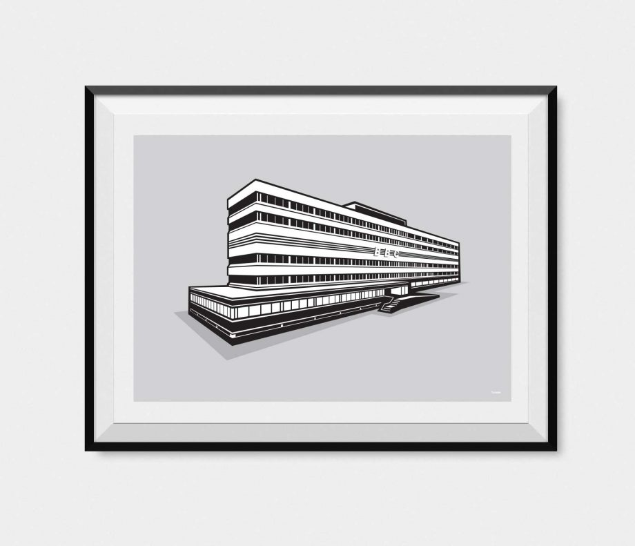 Illustration of New Broadcasting House Manchester