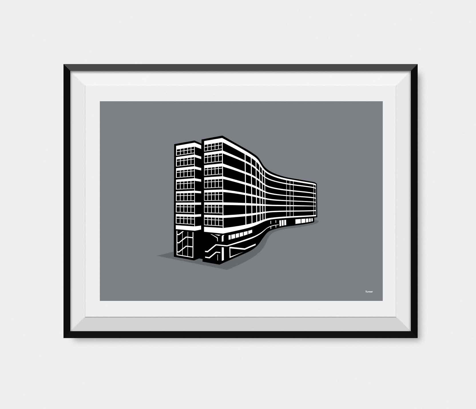 Illustration of Gateway House Manchester
